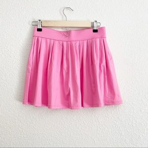 Kate Spade Pink Pleated Dive Right In Skirt